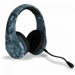 4Gamers Camo Edition Gaming Headset - Midnight – PS4