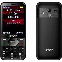 ALIGATOR A900 GPS Senior čierny