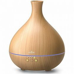 Anjou AJ-AD012 tmavo hnedý drevo LED 500 ml