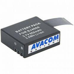 AVACOM za Sjcam Li-Ion 3,7 V 950 mAh 3,5 Wh pre Action Cam 4000, 5000, M10