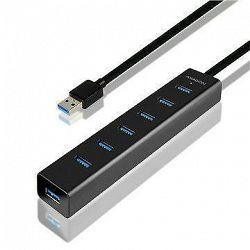 AXAGON HUE-SA7BP 7-Port USB 3.0 CHARGING hub