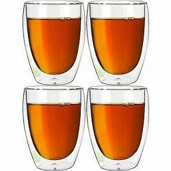 BANQUET Dvojstenný pohár DOBLO 350 ml 4 ks
