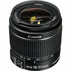 Canon EF-S 18-55 mm F3.5 - 5.6 IS II Zoom čierny