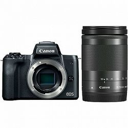 Canon EOS M50 čierny + EF-M 18–150 mm IS STM
