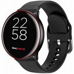 Canyon smart hodinky Marzipan CNS-SW75BR, čierno-červené