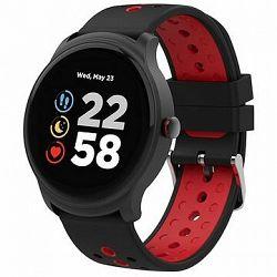 Canyon smart športové hodinky Oregano CNS-SW81BR, červeno-čierne