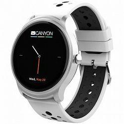 Canyon smart športové hodinky Oregano CNS-SW81SW, strieborno-biele