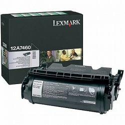 LEXMARK 12A7460 čierny