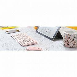 Logitech Bluetooth Multi-Device Keyboard K380, ružová