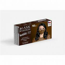 Mesaverde jednorazová tvárová maska 10 ks – hnedá
