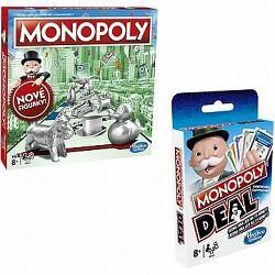 Monopoly nové CZ + Monopoly Deal