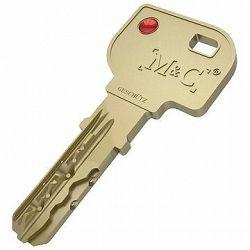 Náhradný kľúč k cylindrickej vložke M & C pre Danalock