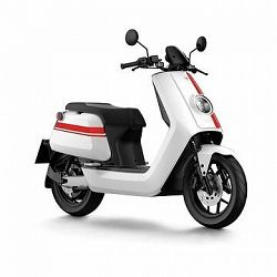 NIU NQi GTS PRO white/red stripes