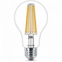 Philips LED Classic Filament 11 – 100 W, E27, číra, 4000 K