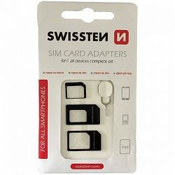 Swissten adaptér na sim 4 v 1