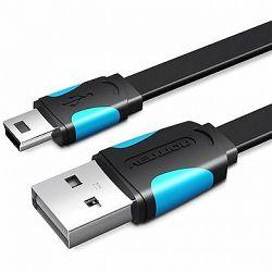 Vention USB2.0 -> mini USB Cable 2 m Black