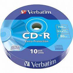 VERBATIM CD-R 80 52× WRAP EXTRA PROTECTION 10pck/BAL